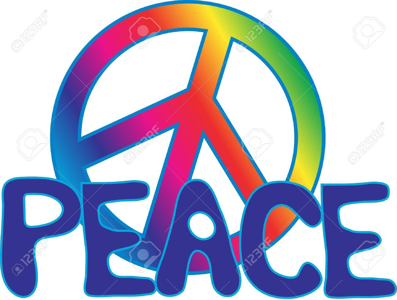 Peace Sign Symbol Text